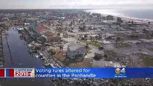State To Bend Voting Rules For Counties Hit By Hurricane Michael [Video]