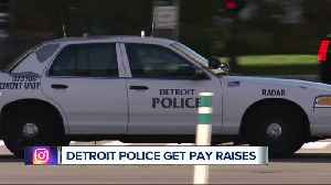 Detroit police get pay raises [Video]