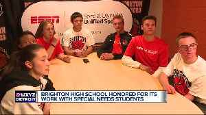 Brighton High honored by ESPN, Special Olympics [Video]
