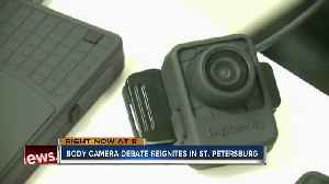 Local group asks for St. Pete officers to wear body cameras [Video]