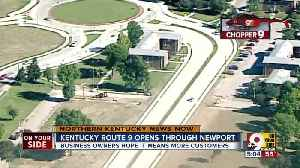 Ky. 9 connector opens final stretch in Newport [Video]