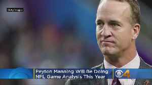 Manning Agrees To NFL Game Analysis On 'Detail' [Video]