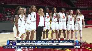 Strong bond, chemistry story of Terps women's hoops so far [Video]
