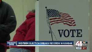 Kansas early voting numbers to surpass last midterm in 2014 [Video]
