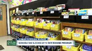 Cheektowaga Sloan introduces reading program with big results [Video]