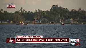 Man ejected from boat on Caloosahatchee River [Video]