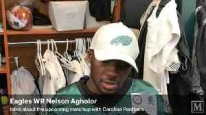 VIDEO: Eagles WR Nelson Agholor talks about team's mindset heading into this Sunday [Video]