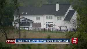 Couple going through counseling before murder-suicide [Video]