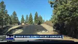 Bogus Basin safety project complete, featuring new trailhead 'comfort station' [Video]