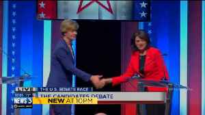 Wisconsin US Senate debate tense, combative [Video]