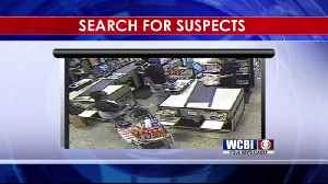 Tupelo Credit Card Thieves Caught on Camera - 10/9/18 [Video]