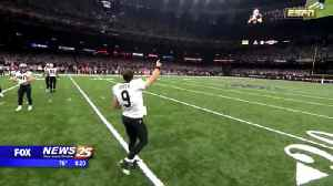 Drew Brees breaks NFL all-time passing mark [Video]