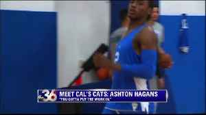 Meet Cal's Cats: Ashton Hagans [Video]
