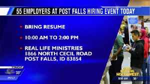 Post Falls job event lists 1,500 jobs available [Video]