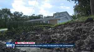 'I don't trust them': Town of Beloit woman says her yard was destroyed by construction project [Video]
