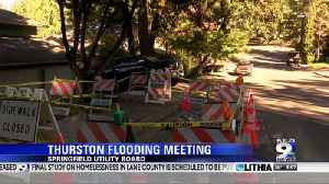 water main flooding meeting [Video]