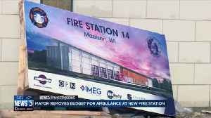 Mayor rejects budget for ambulance service at new fire station, alder concerned about response times [Video]