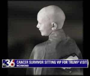 Cancer survivor sitting VIP for Trump visit [Video]