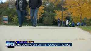 Excitment brewing for NLCS Game 1 at Miller Park [Video]