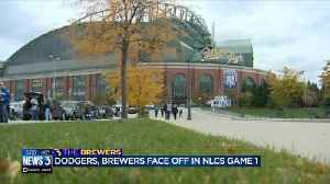 Fans excited for Brewers to play Dodgers at Miller Park [Video]