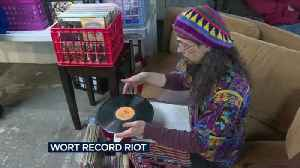 WORT Radio raises funds during annual record riot [Video]