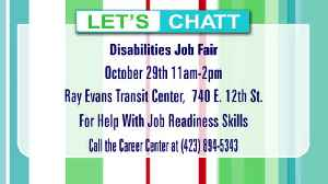 Disabilities Job Fair October 29th for Employers and Job Seekers [Video]