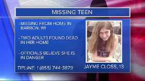 Amber Alert issued for missing 13-year-old girl after parents found dead [Video]