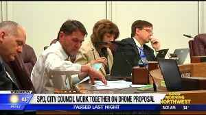 Spokane city council passes police use of drones [Video]