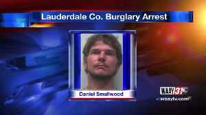 Lauderdale County Burglary Arrest [Video]