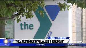 Local YMCA reflects on Paul Allen's generosity [Video]