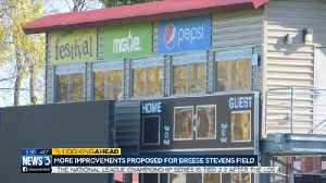 More improvements proposed for Breese Stevens Field ahead of professional soccer [Video]