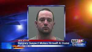 Man makes himself at home in stranger's house, deputies say [Video]