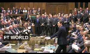 Osborne's tax credit climbdown | FT World [Video]