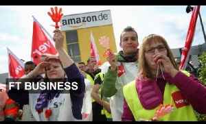 Amazon workers down tools | FT Business [Video]
