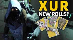 Where Is Xur? Week 7 Exotic Weapons and Armor (Oct 19-22) [Video]