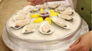 Raw Oysters Go Through The Gambit Before Their Eaten [Video]