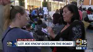 More than 200 people came on our for 'Let Joe Know' event [Video]