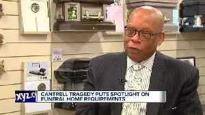 Funeral home owner fears problems at Cantrell will leave 'black eye' on industry [Video]
