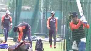 India Vs West Indies 1st ODI: MS Dhoni practicing with Team at Guwahati | वनइंडिय&#x93 [Video]