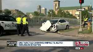 How distracted driving can impact auto insurance rates [Video]