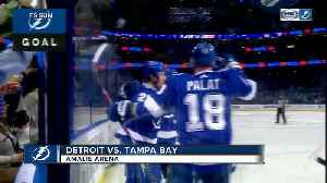 Steven Stamkos gets 1st goal of season as Tampa Bay Lightning beat winless Detroit Red Wings 3-1 [Video]