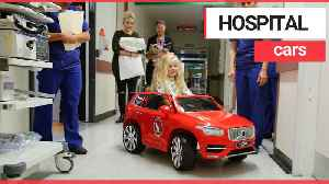 Hospital provides children with cars on the ward [Video]