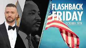 Flashback Friday: October 19th in History [Video]