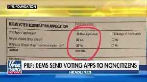 Texas Democrats accused of mailing pre-filled out voting applications to non-citizens [Video]