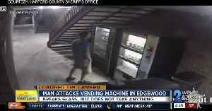 """Harford County Sheriff's looking for """"disguised"""" vending machine vandal [Video]"""