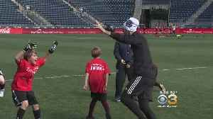 Students Receive Special Soccer Lesson From Philadelphia Union Players [Video]