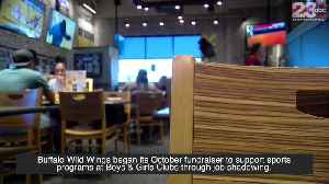 Buffalo Wild Wings begins its October fundraiser to support Boys & Girls Clubs [Video]