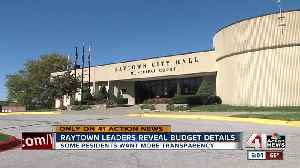 Raytown city leaders talk new budget [Video]
