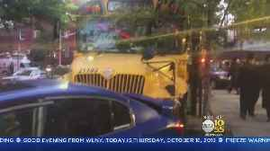 School Bus Slams Into Row Of Parked Cars In Brooklyn [Video]
