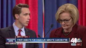 Hawley tries to paint McCaskill as too liberal [Video]
